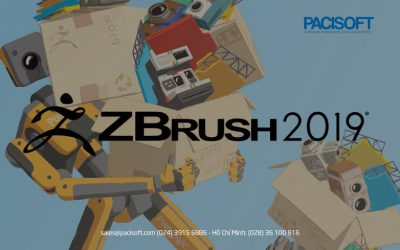 Phần mềm điêu khắc ZBrush 2019 chính thức ra mắt