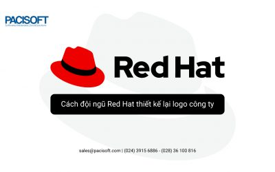 Cách đội ngũ Red Hat thiết kế lại logo công ty