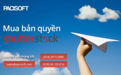 Tư vấn mua gói thuê bao hình ảnh Shutterstock bản quyền