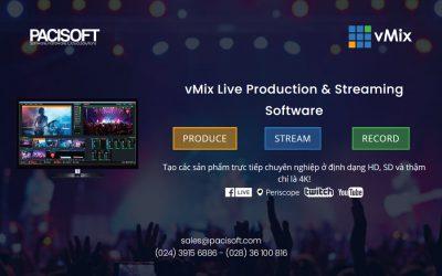 Tư vấn mua, bán Phần mềm vMix bản quyền