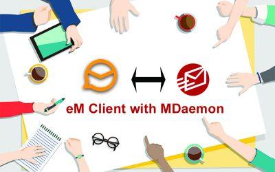 eM Client cộng tác với MDaemon Email Server: sự kết hợp thay thế cho Microsoft Outlook
