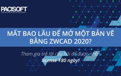 Tặng license ZWCAD 2020 180 ngày sử dụng