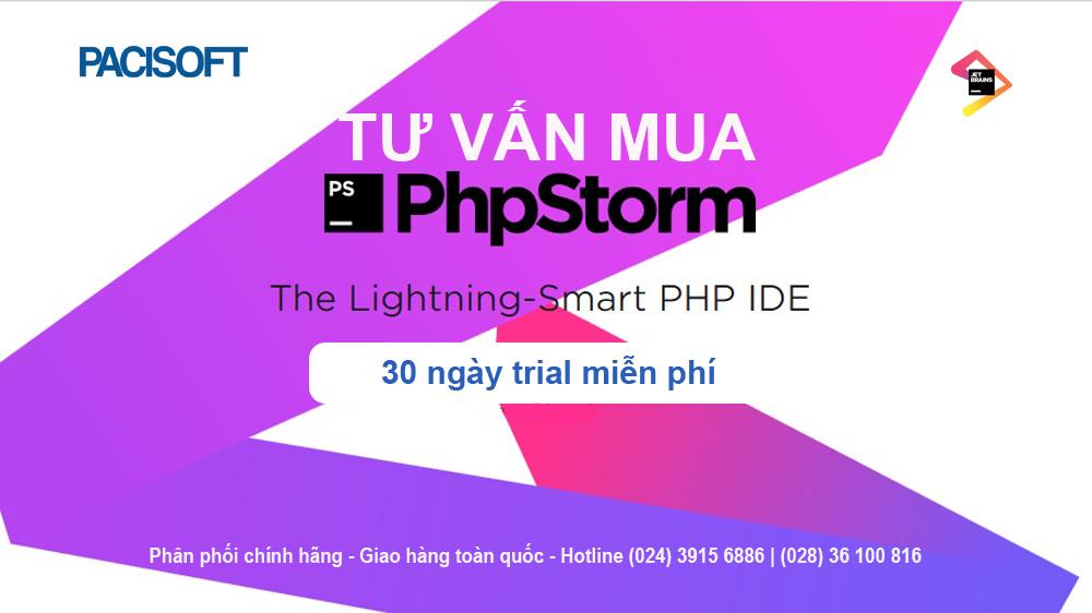 Tư vấn mua phần mềm PhpStorm bản quyền