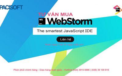 Tư vấn mua phần mềm WebStorm bản quyền