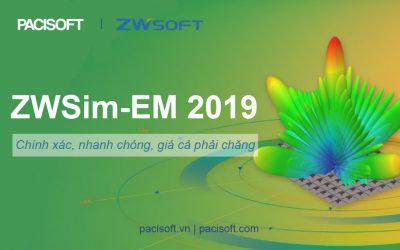 ZWSOFT ra mắt phần mềm ZWSim-EM 2019