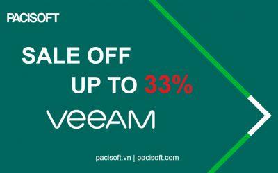 Khuyến mãi VEEAM | Tiết kiệm ngân sách đến 33% khi mua VIL ENT Plus
