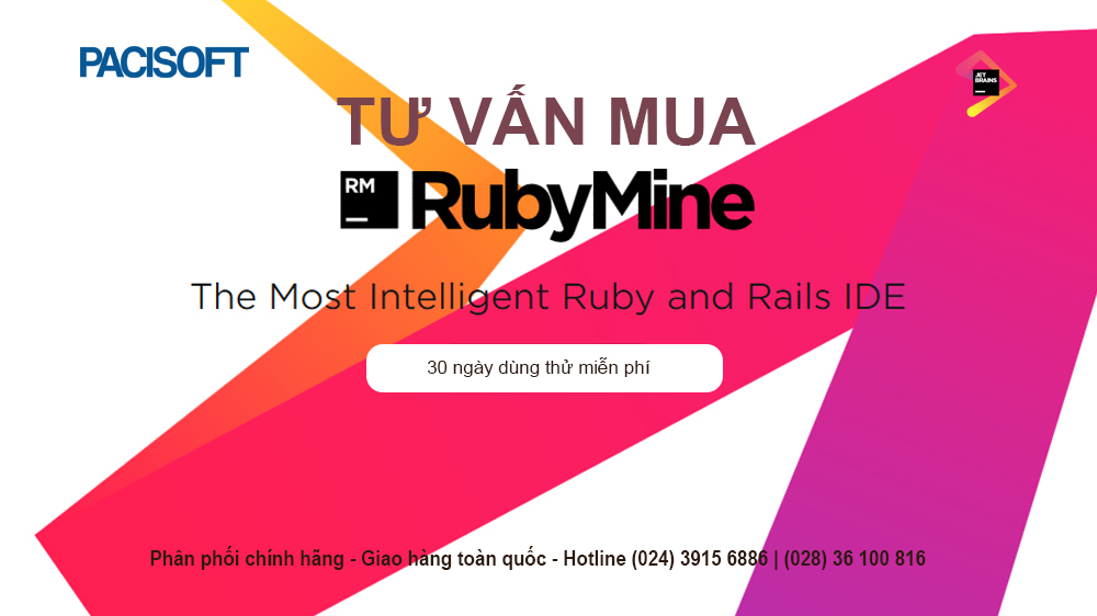 Tư vấn mua phần mềm RubyMine bản quyền