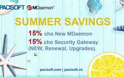 [HOT] UP TO 15% – Hè sôi động cùng chương trình khuyến mãi MDaemon!