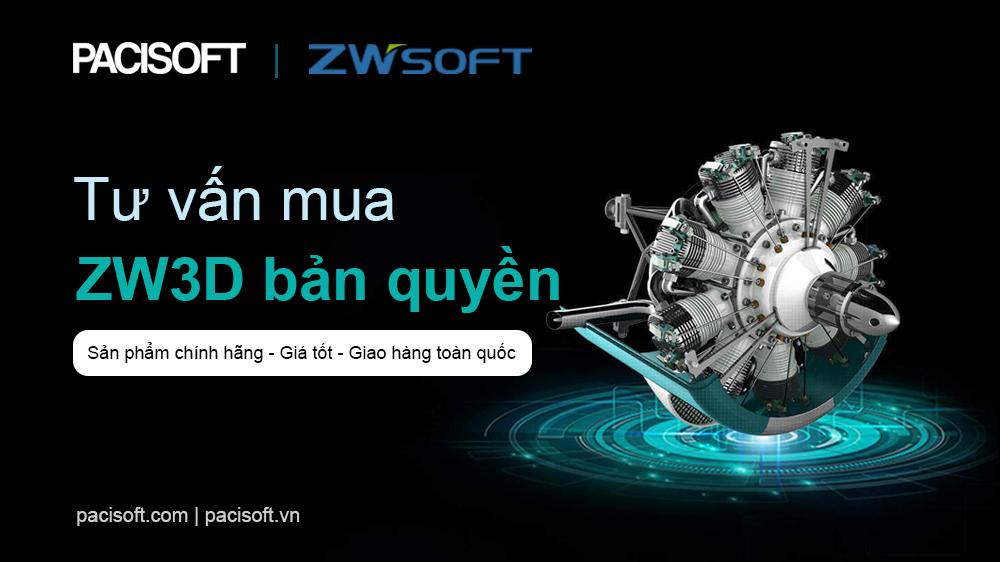 Tư vấn mua phần mềm ZW3D bản quyền