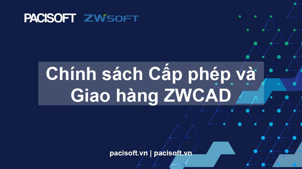 ZWCAD thay đổi Chính sách cấp phép và Giao hàng