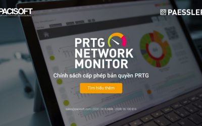 Cấp phép bản quyền PRTG