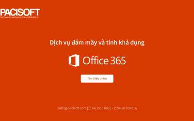 Dịch vụ đám mây và tính khả dụng của Office 365
