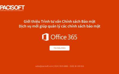 Giới thiệu Trình tư vấn Chính sách Bảo mật – dịch vụ mới giúp quản lý các chính sách bảo mật Office 365