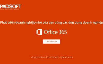 Phát triển doanh nghiệp nhỏ của bạn cùng các ứng dụng kinh doanh của Office 365