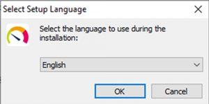 language setting