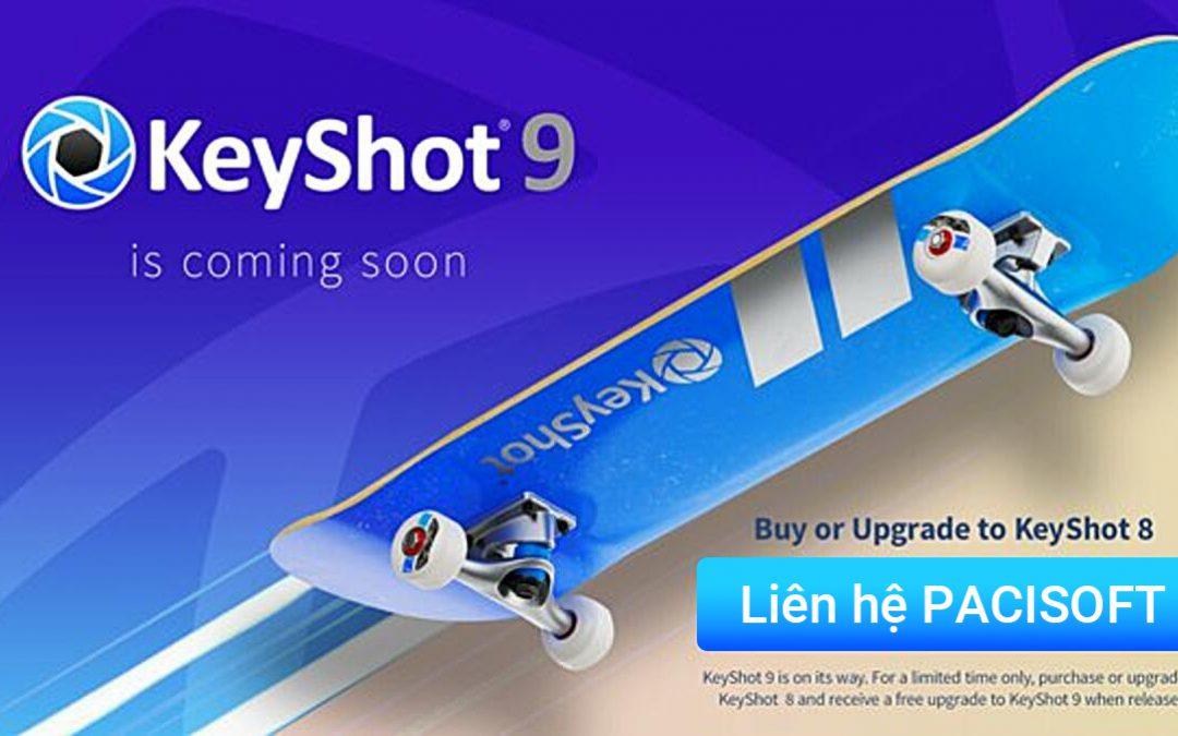 Nhận ngay KeyShot 9 khi mua hoặc upgrade lên KeyShot 8