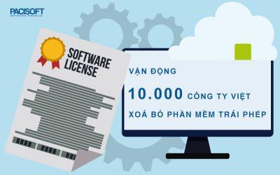 """Vận động 10.000 công ty Việt """"Xóa bỏ phần mềm trái phép"""""""