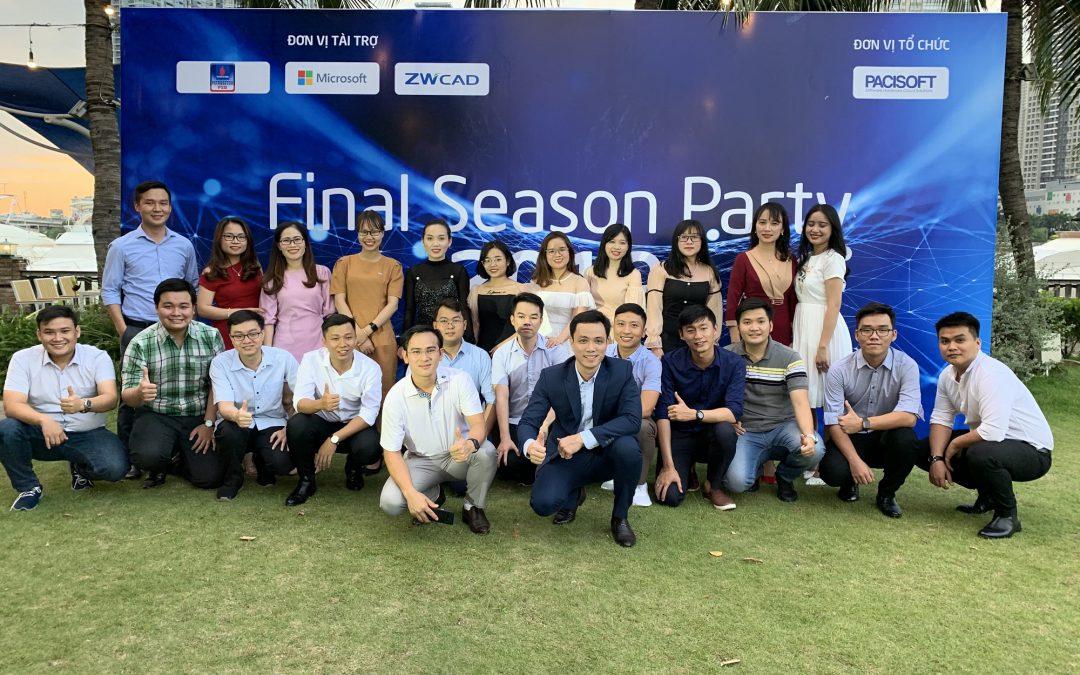 PaciSoft đã tổ chức thành công sự kiện Final Season Party 2019