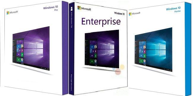 Các phiên bản của Windows 10