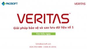 Veritas - Giải pháp sao lưu và phục hồi số 1