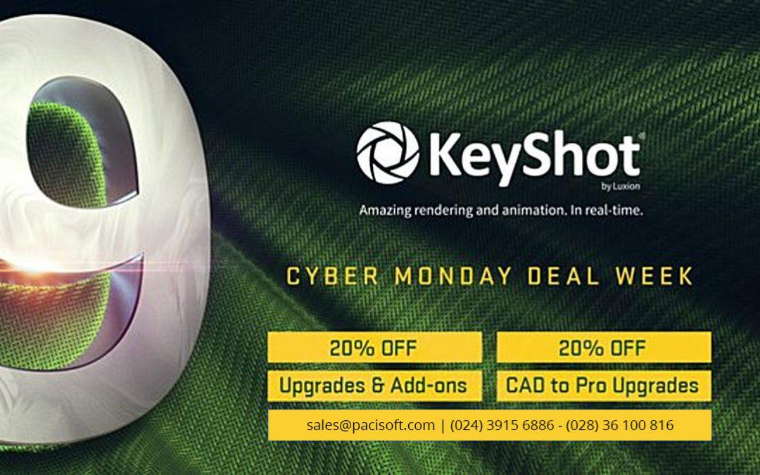 Keyshot 9 | Giảm giá 20% | Áp dụng cho tất cả bản nâng cấp và tiện ích