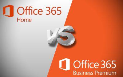 So sánh Office 365 Home và Business Premium cho doanh nghiệp SMB