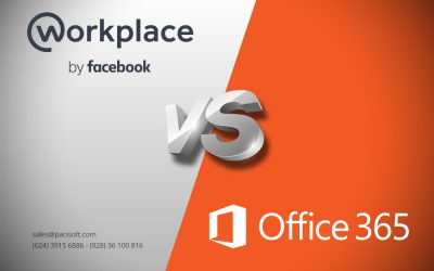 So sánh Office 365 với Workplace by Facebook