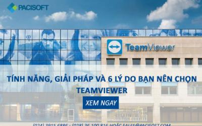 Tính năng, giải pháp và 6 lý do bạn nên chọn TeamViewer   Xem ngay!