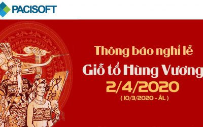 Thông báo nghỉ lễ giỗ tổ Hùng Vương 10-3 ÂL