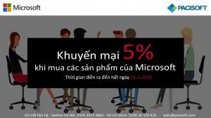khuyến mãi Microsoft