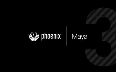 ChaosGroup chính thức phát hành Phoenix FD 3.0 Maya Beta