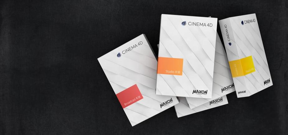 Phát hành Cinema 4D R18 Service Release 3