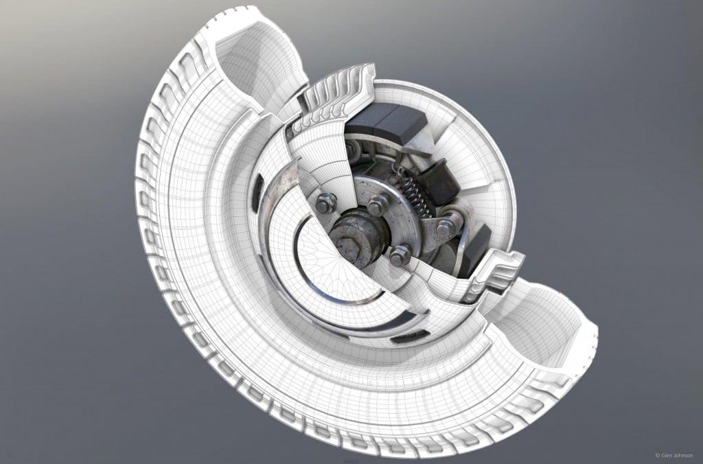 Tính năng Polygonal Modeling của Cinema 4D