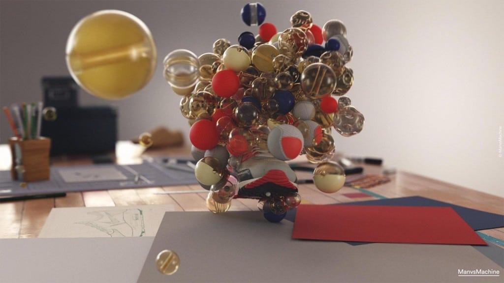 Công cụ Animation MoGraph của Cinema 4D