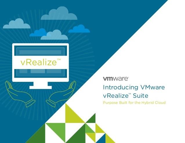 VMware vRealize Suite