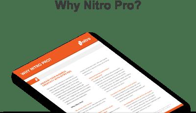 Nitro Pro là phần mềm PDF có giá hợp lý và đầy đủ tính năng cho các doanh nghiệp