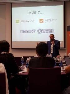 Sự kiện Minitab User Conference Tp Hồ Chí Minh tháng 9/2017