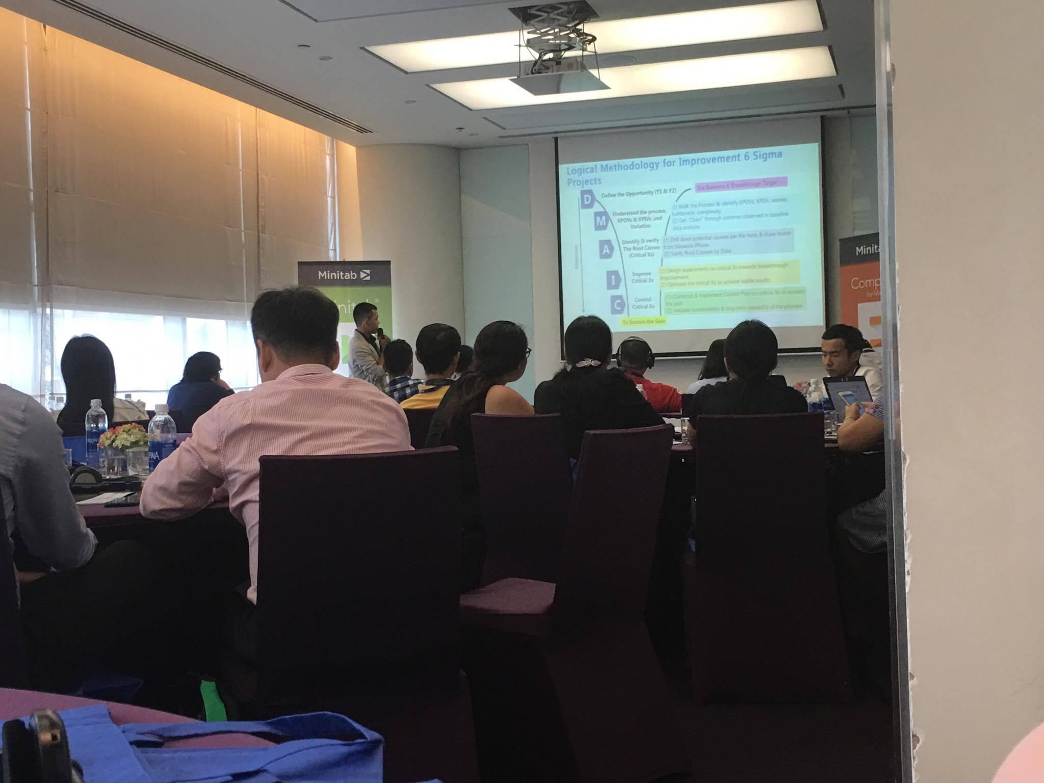 Thông tin về sự kiện Minitab User Conference tại Tp Hồ Chí Minh tháng 9/2017