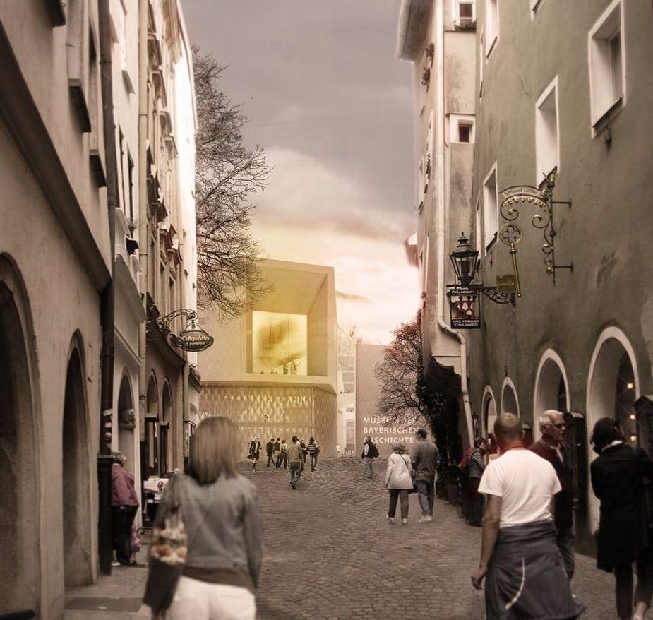 Công nghệ Cinema 4D giúp nghệ sĩ dành chiến thắng tại bảo tàng ở Regensburg