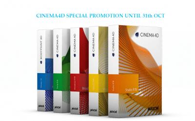 Promotion CINEMA4D tháng 10
