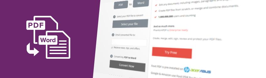 Cách nhanh và dễ dàng nhất để chuyển đổi file PDF sang Word