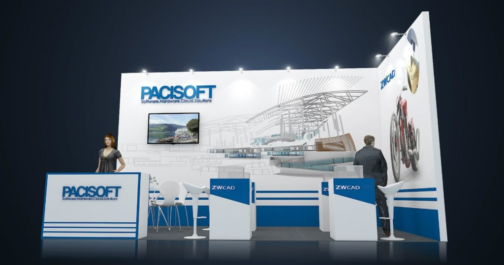 PACISOFT & ZWCAD 2018 sẽ tham gia Vietbuild 2017