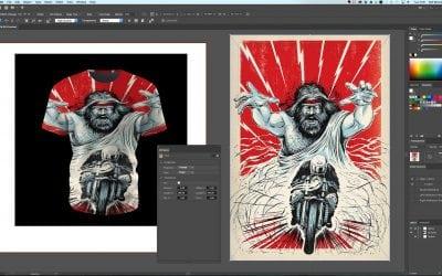 Plugin miễn phí của Maxon cho phép sử dụng scenes 3D trong Adobe Illustrator