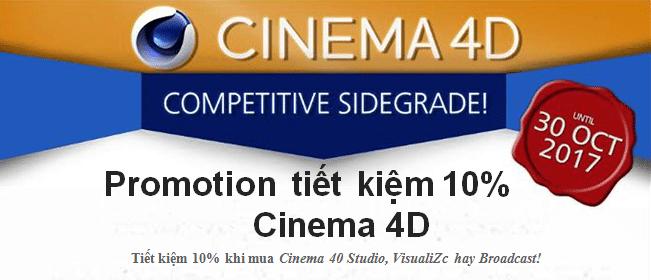 promotion cinema 4D