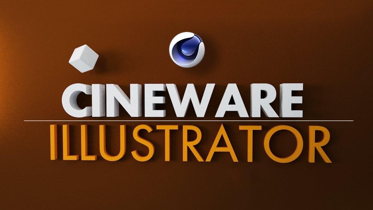 Plugin Cineware for Illustrator mới cho phép các nhà thiết kế 2D dễ dàng làm việc trong chế độ 3D
