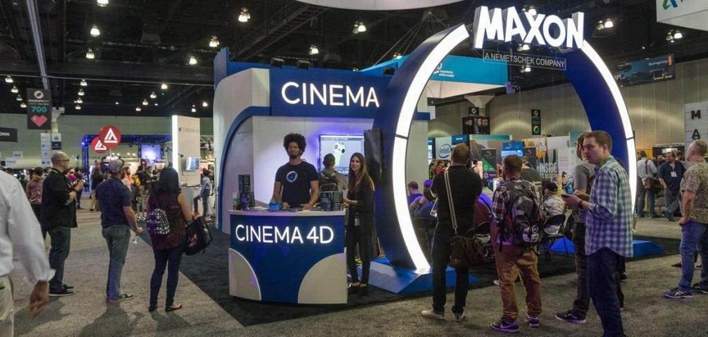 Maxon tại Nab Show và Adobe Max
