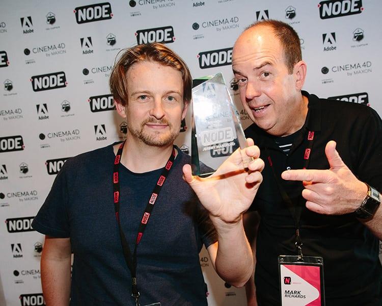 Công nghệ Cinema 4D giúp Jeremy Mansford dành chiến thắng tại Node Fest 2017