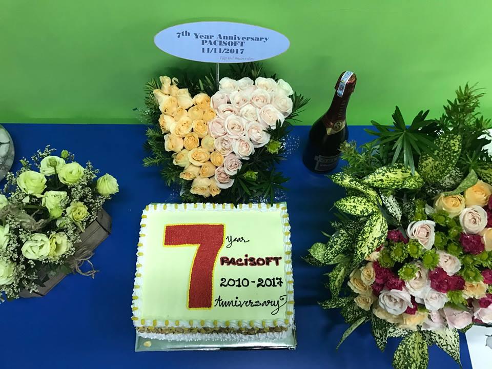 pacisoft 7 năm thành lập