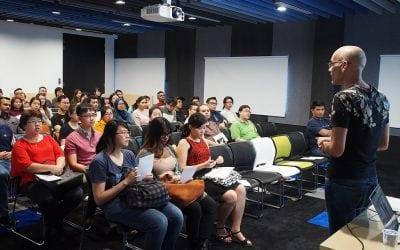 Hội thảo 3D Motion Graphics & VFX tại Singapore cùng chuyên gia Dominic Watkins