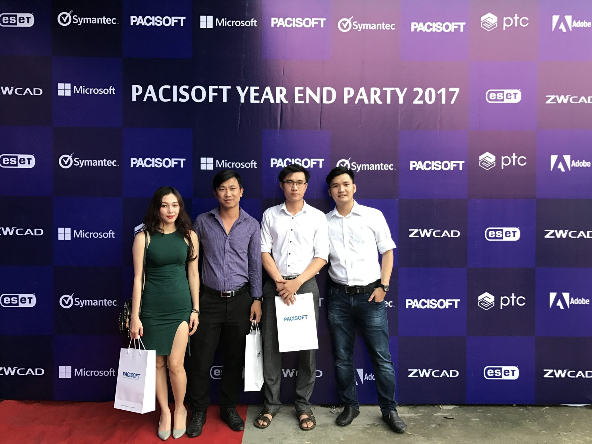 pacisoft year end party 2017